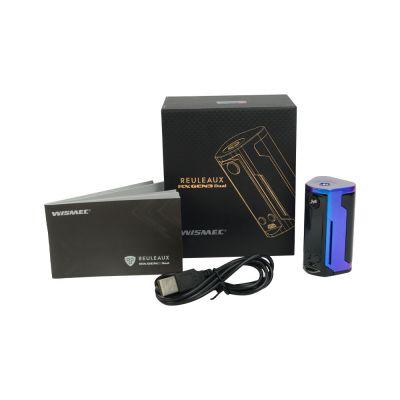 Wismec RX GEN3 Dual Mod with 2 x Batteries